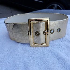 Jill Stuart Gold Women's Belt